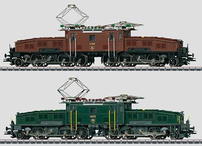 2013 marklin, trix and lgb new items crocodile animal planet sbb crocodile double set of electric freight locomotives